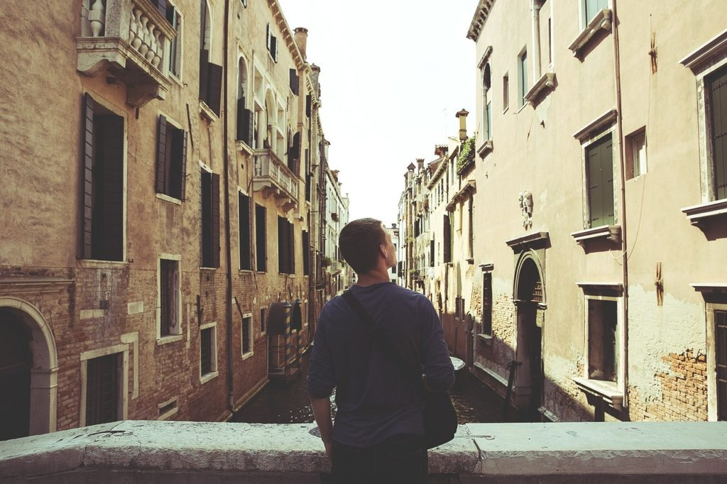 Life and the streets of Venice: The choice is yours